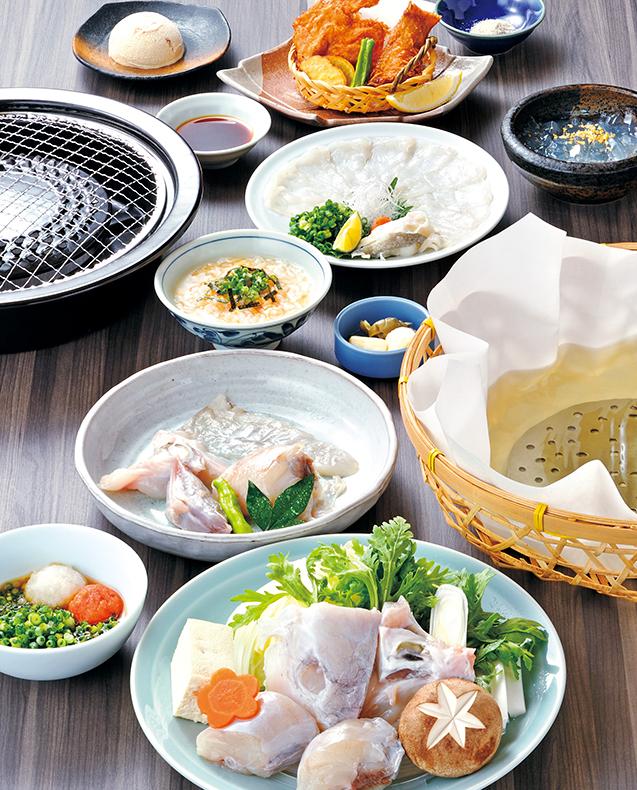 大虎河豚烤和火锅 套餐