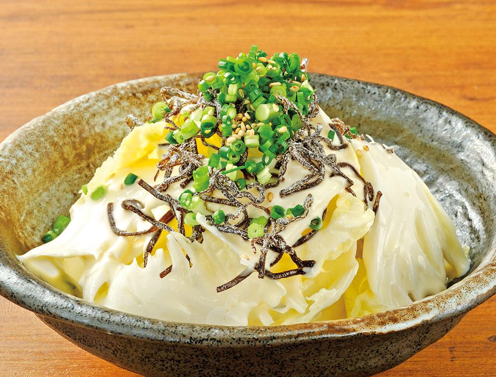 おすすめ単品白彩サラダ